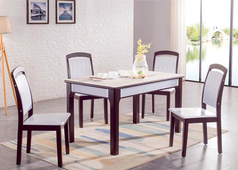 1822餐桌B81餐椅