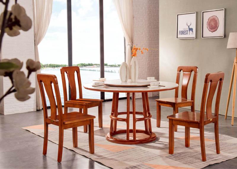 1816餐桌B65餐椅